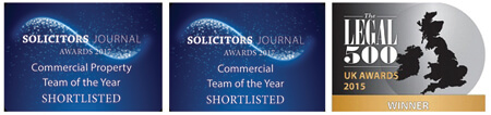 IBB Solicitors Nominations for Solicitors Journal Awards