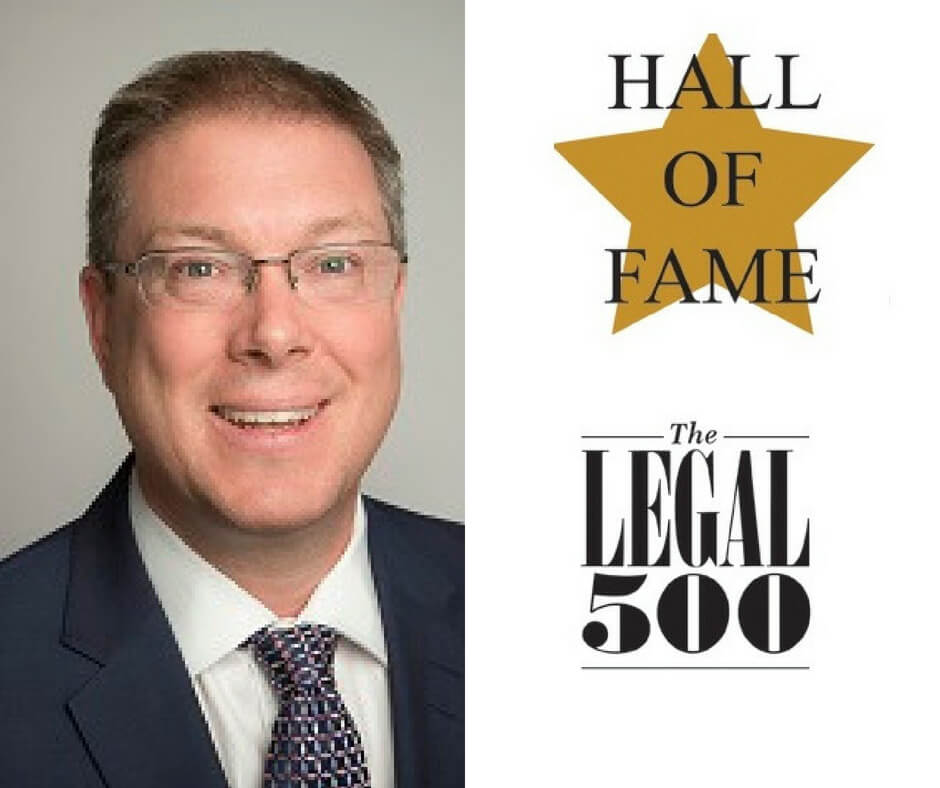 Adam Dowdney Legal 500 Hall of Fame 2018