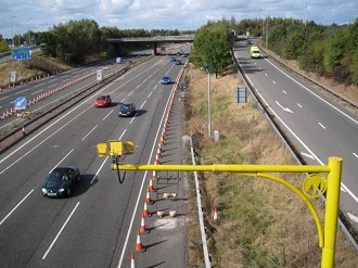 Speeding offences on smart motorways